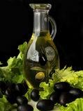 Oliv och olja Royaltyfri Bild