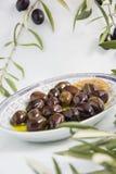 oliva della prima colazione Fotografia Stock Libera da Diritti