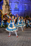 Lisbon Old Neighbourhoods Festivities - Olivais Popular Parade Stock Images