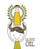 Olivdesign vektor illustrationer