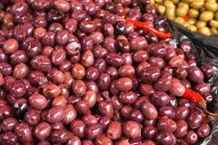 Olive al servizio Immagini Stock