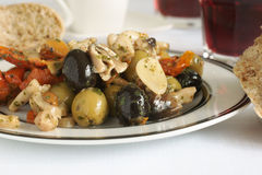 Olive Antipasti Royalty Free Stock Images