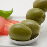 Olive appetizer Royalty Free Stock Photo