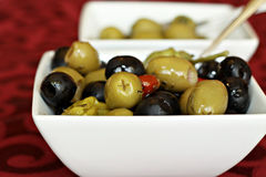 Olive Assortment Royalty Free Stock Images
