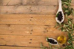Olive background Stock Images