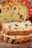 Olive an bacon loaf Royalty Free Stock Photos