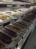 Olive Bar Stock Foto's