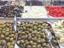 Olive Bar Lizenzfreie Stockbilder