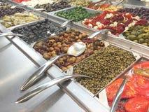 Olive Bar Lizenzfreie Stockfotos