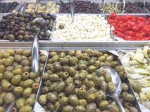 Olive Bar Royalty Free Stock Images