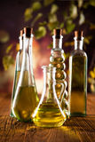Olive in bottles Stock Image
