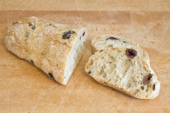 Olive bread Royalty Free Stock Photo