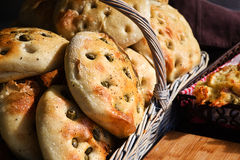 Olive Bread Stock Images