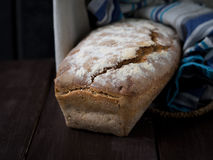 Olive bread Royalty Free Stock Images
