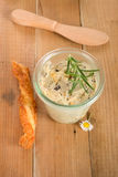 Olive butter spread Royalty Free Stock Photos