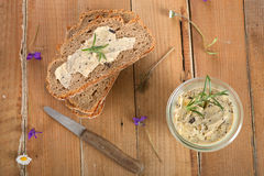 Olive butter spread Stock Image