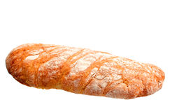 Olive ciabatta bread loaf Stock Images