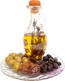 Olive composition Royalty Free Stock Photography