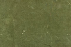 Olive cotton texture with scratches ans rips Stock Photography