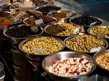 Olive da vendere Immagini Stock