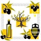Olive de la Grèce Images stock