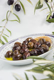 olive de petit déjeuner Photographie stock libre de droits