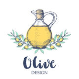Olive design illustration. Stock Photography