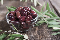 Olive di Kalamata Immagine Stock Libera da Diritti