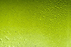 Olive drab water drops abstract background Royalty Free Stock Photo