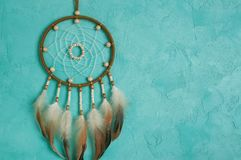 Olive dream catcher royalty free stock image