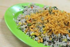 Olive fried rice Stock Photo