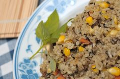 Olive fried rice Royalty Free Stock Photos