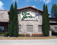 Olive Garden Italian Restaurant Immagine Stock Libera da Diritti