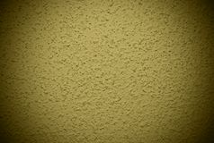 Olive grained wall background or texture Stock Photos