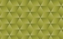 Olive green abstract geometric background for your creative design ideas. 3D transparent olive green cubes organized in a pattern within abstract geometric Stock Photography
