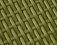 Olive Green Basket Weave Pattern Background Stock Images