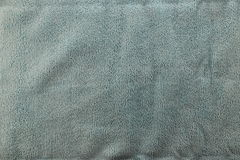 Olive Green color Texture of microfiber Cloth. Stock Image