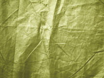 Olive green creased grunge background Royalty Free Stock Photography