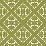 Olive green geometric ornament. Seamless pattern. For web, textile and wallpapers Royalty Free Stock Images