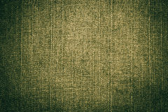 Olive green jeans fabric texture Stock Images