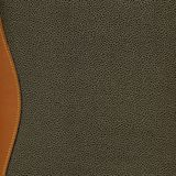 Olive green leatherette texture background Royalty Free Stock Images