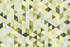 Olive Green Polygon Geometric Background abstracta representación 3d Imágenes de archivo libres de regalías