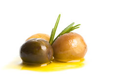 Olive  isolated Stock Photos