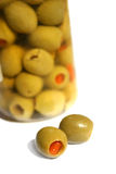 Olive Jar Stock Image