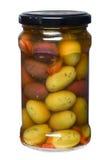 olive kruka Royaltyfri Bild