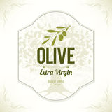 Olive labels design Stock Photos