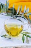 Olive leaf herbal tea. Dietary Supplements. Stock Image
