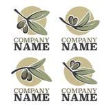 Olive logo Stock Photo
