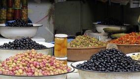 Olive on market Stock Image