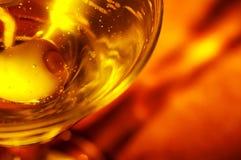 olive martini Zdjęcia Stock
